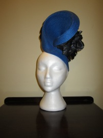 Biretta and Busby Hatmaker Headpiece - $60
