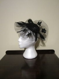 The Hat Box lace headpiece - $40